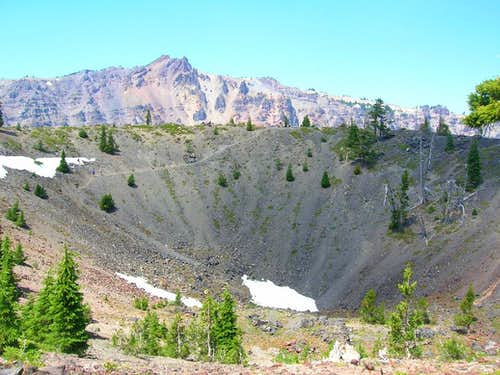 The Crater Atop the Crater
