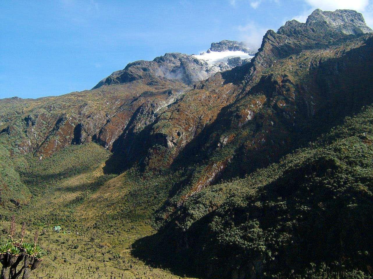 Mount Speke above Bajoko Hut : Photos, Diagrams & Topos : SummitPost