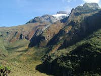 Mount Speke above Bajoko Hut