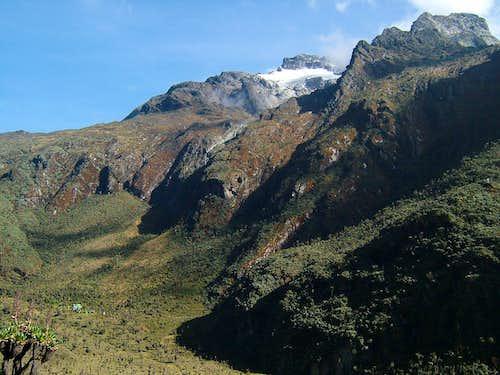 Mount Speke above Bajoko Hut