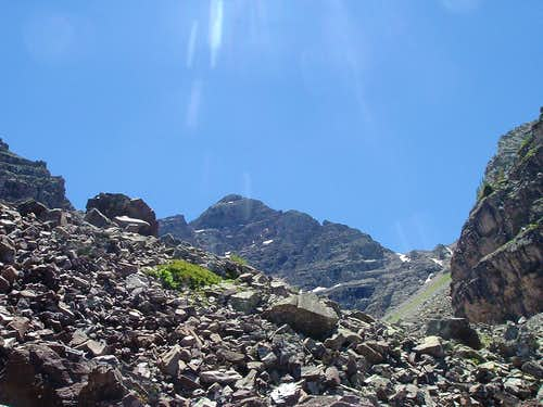Pyramid Peak- First trek into the Elk Range in 2010