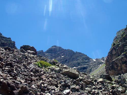 Pyramid Peak- First trek into the Elk Range in 2010