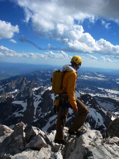 Summit of Grand Teton