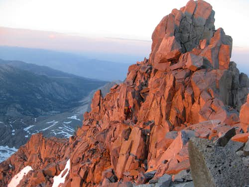 NW ridge