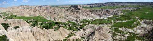 Sage Creek Basin Panorama