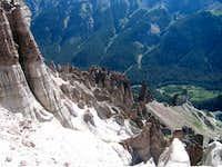 Formations on Precipice