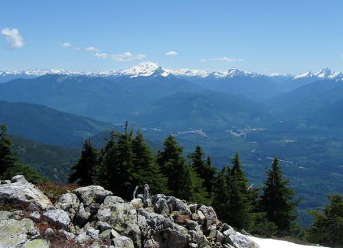 Glacier Peak as seen from...