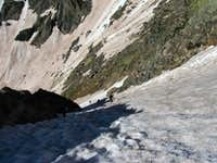 Teardrop couloir