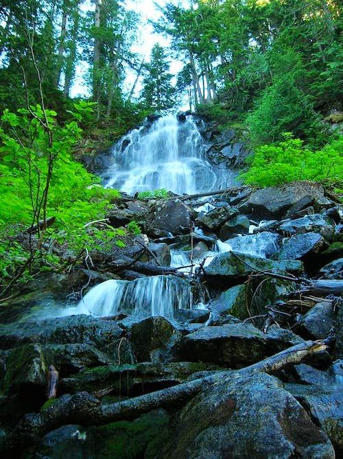 Thompson Lake Falls