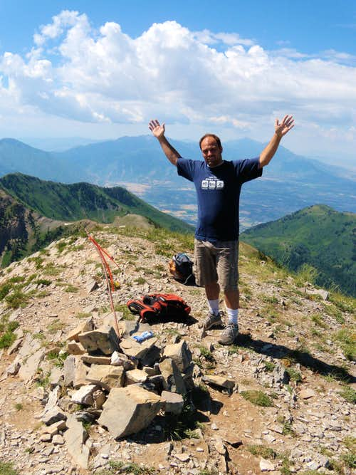 Provo Peak Summit