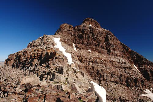Summit ridge of South Maroon Peak