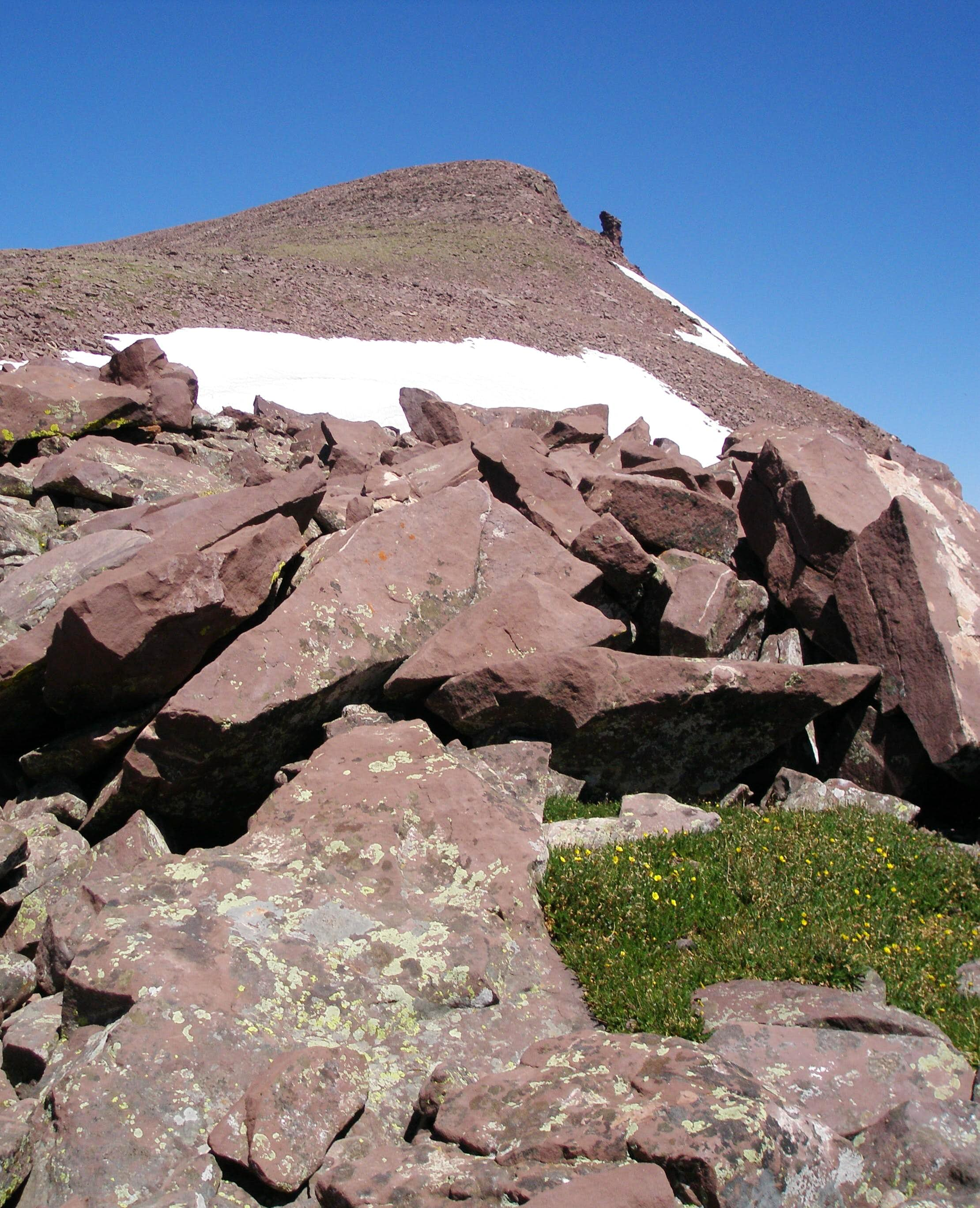 """North Emmons"" (a.k.a. ""Pinnacle Peak"")"