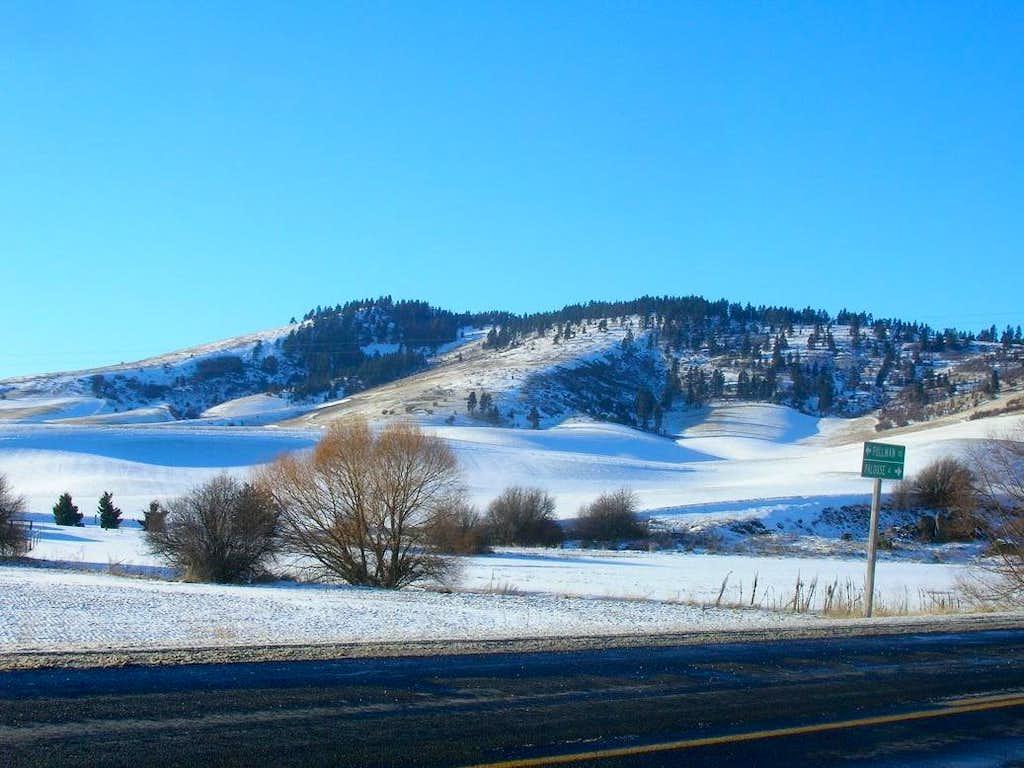 Kamiak Butte Winter