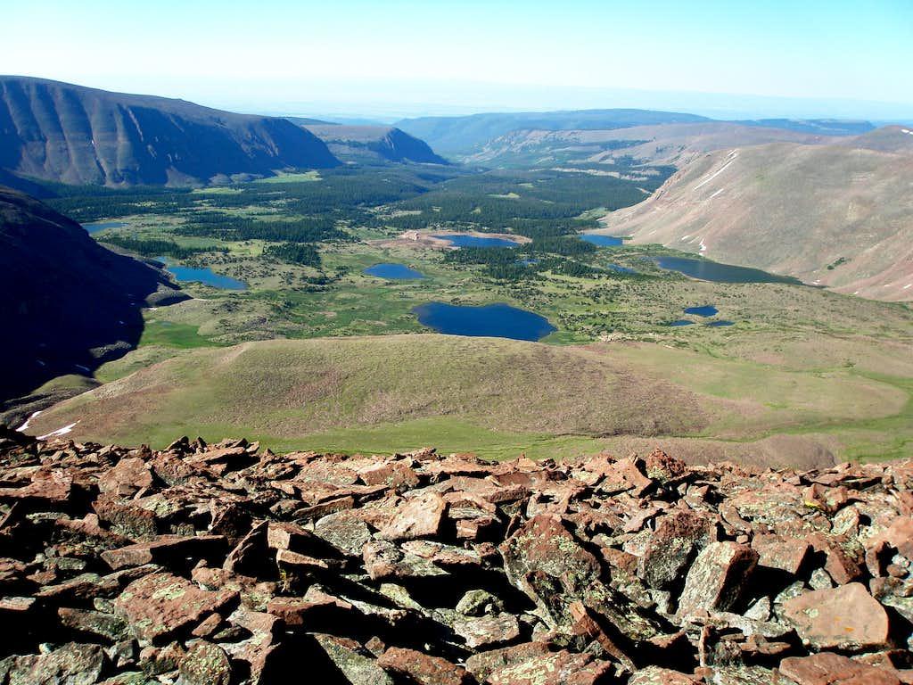 Timothy Lakes Basin