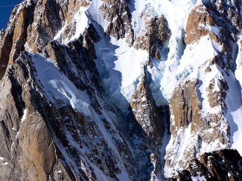 Mont Blanc - the Brenva