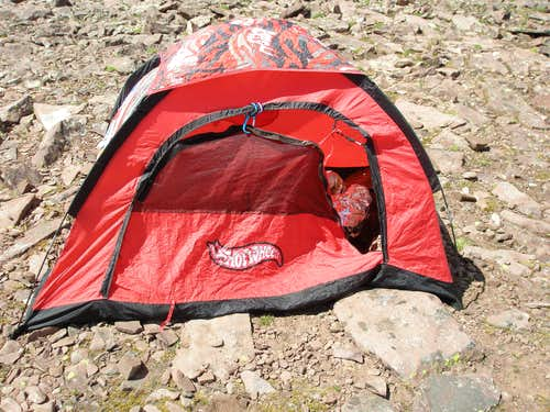 World's crappiest tent