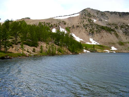 Lake Augusta and Icicle Ridge