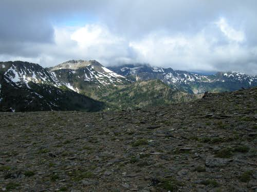 Chiwaukum Mountains from Big Jim