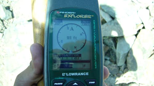 West Spanish Peak w gps