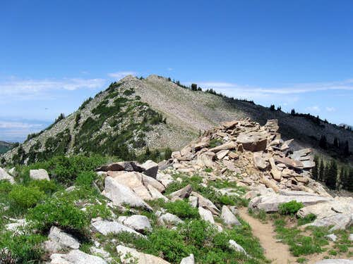 Nearing Mt. Wolverine