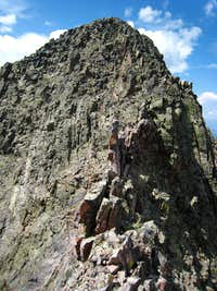 View to the top