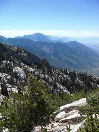 Box Elder from the Lone Peak Cirque