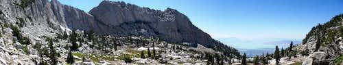 Lone Peak Cirque Panorama
