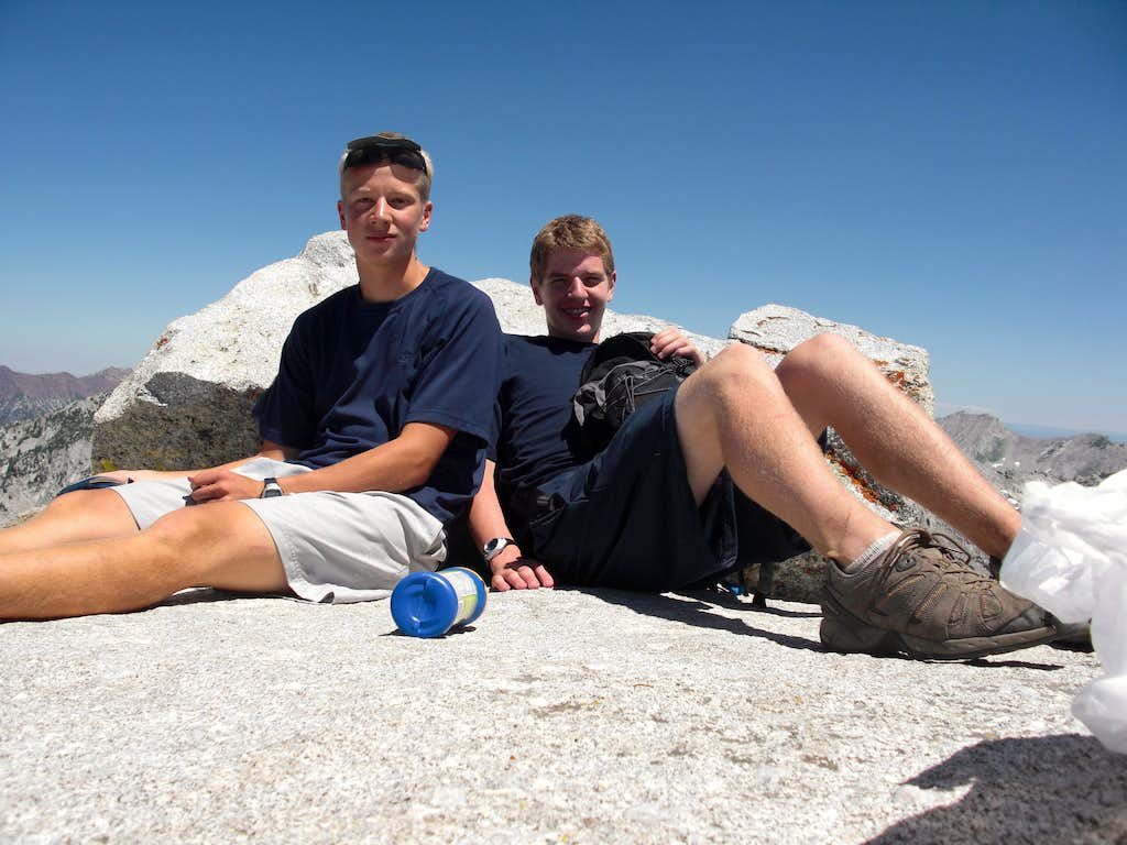 Resting on the Summit