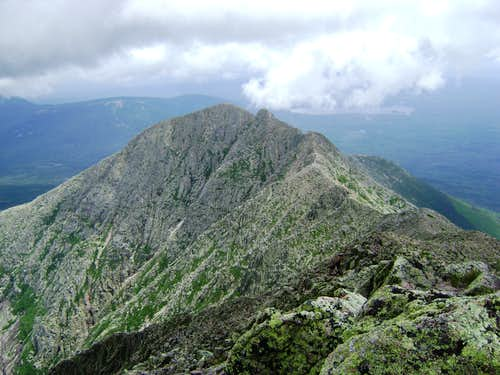 Looking back towards Pamola from South Peak