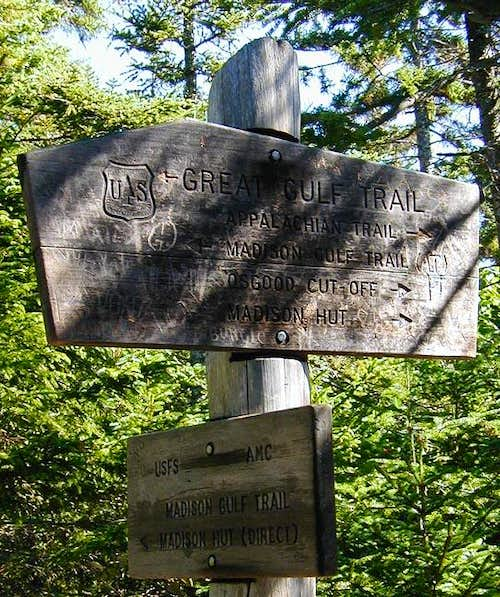 Madison Gulf Trail sign