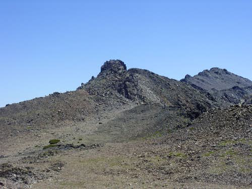 Black Mountain and Black Cat Peak from the west