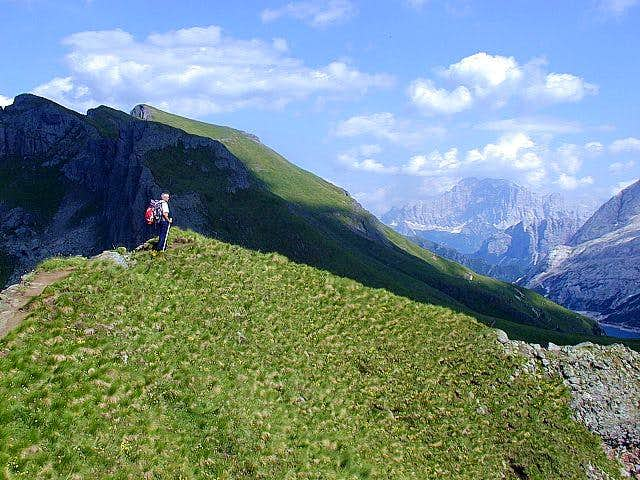 On the Padon ridge. Photo:...