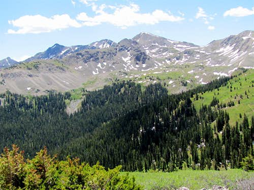 Above Tree-line, Tellurium Peak