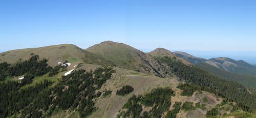 3 Humps of Maiden Peak Pano