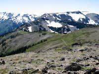 Elk Mountain fom Maiden Peak true summit