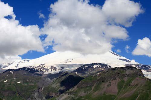 Elbrus as seen
