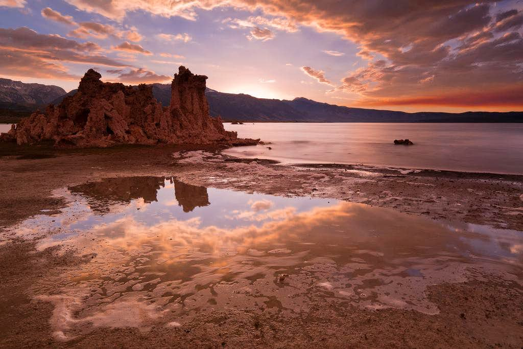 Sunset, Mono Lake