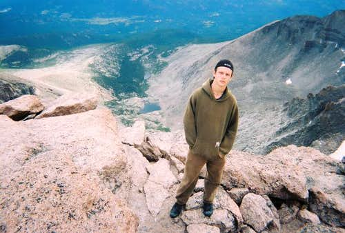Summit of Longs Peak,...