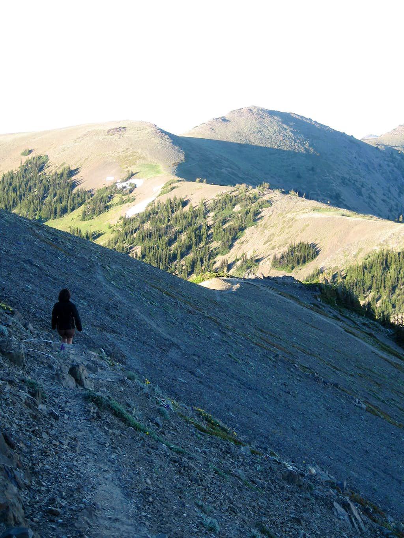 Maiden Peak from West