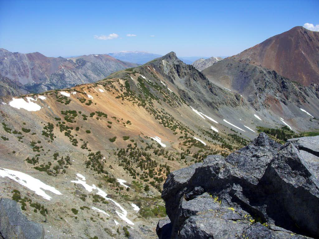 Peak 11568 from Black Cat Peak