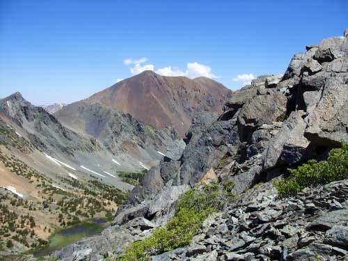 Dunderberg Peak from Black Cat Peak