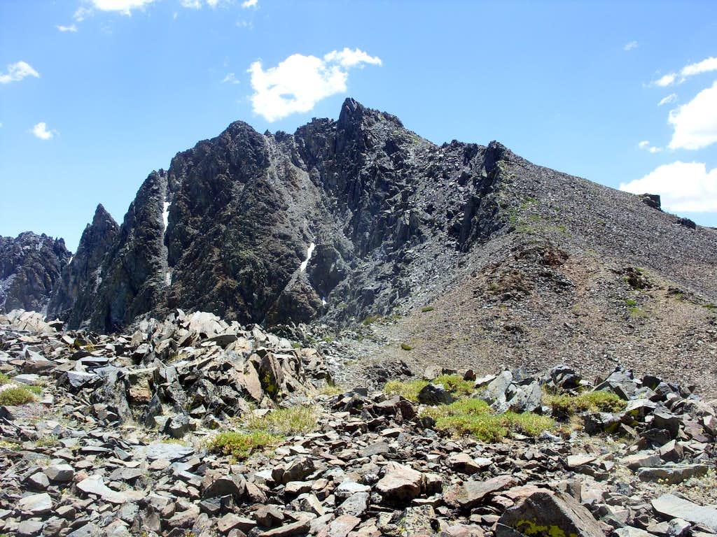 The final stretch to Black Cat Peak