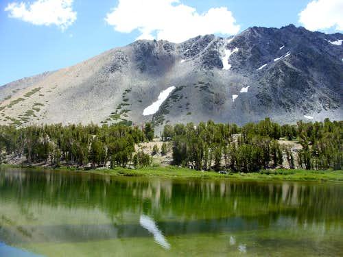 Reflection of Black Mountain