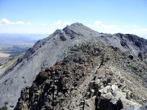 Black Mountain from Black Cat Peak