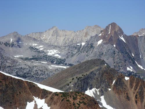 Whorl Mountain from Black Cat Peak