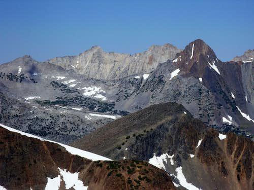 Whorl Mountain from Black Cat Peak