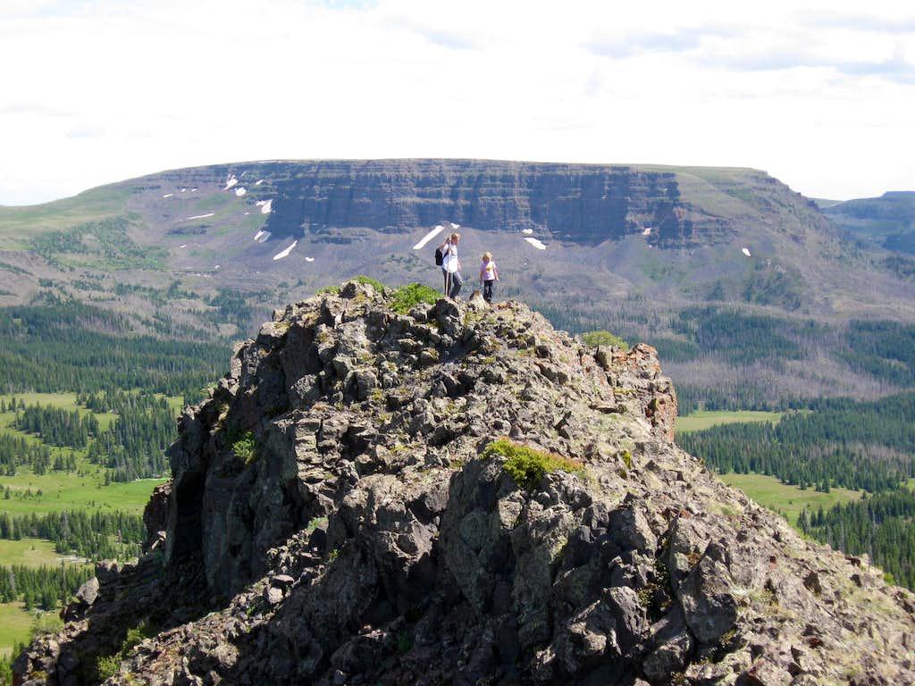 Pyramid Peak Ridge