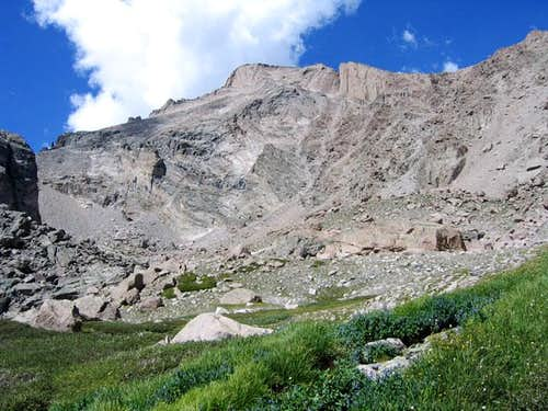 Longs Peak viewed from the...