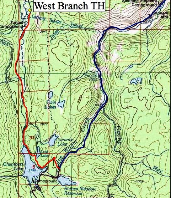 West Branch TH Map