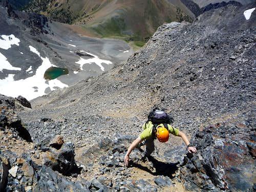 Donaldson to Church ridge traverse
